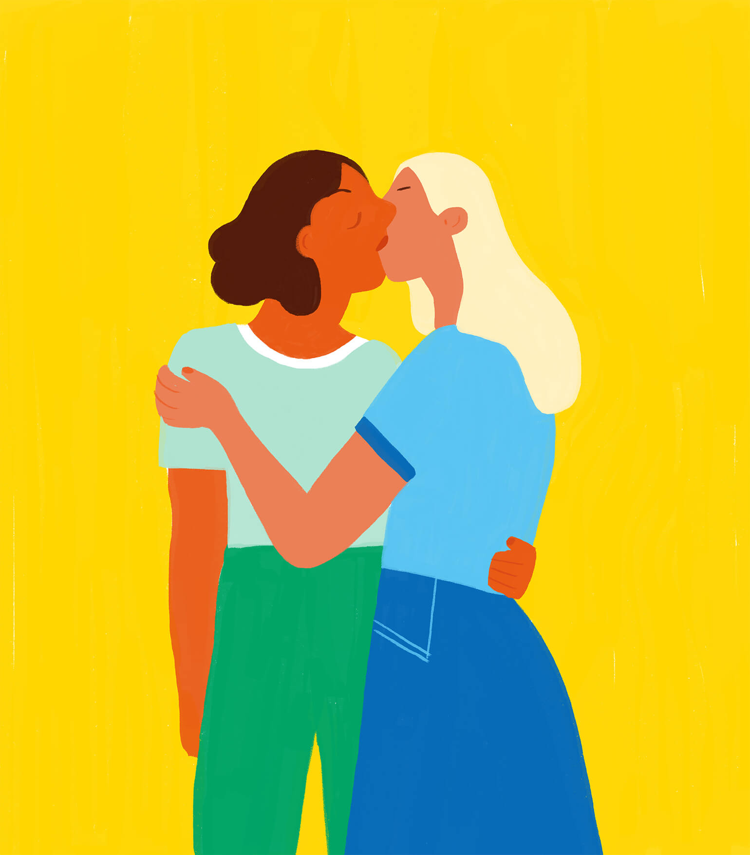 pride-month-queer-women-kissing-illustration-violeta-noy