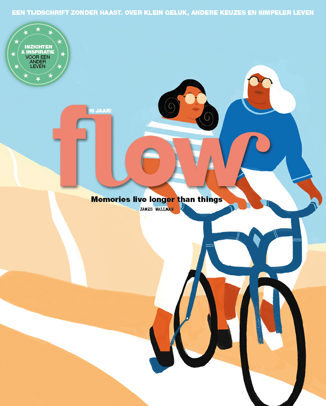 cover / flow magazine