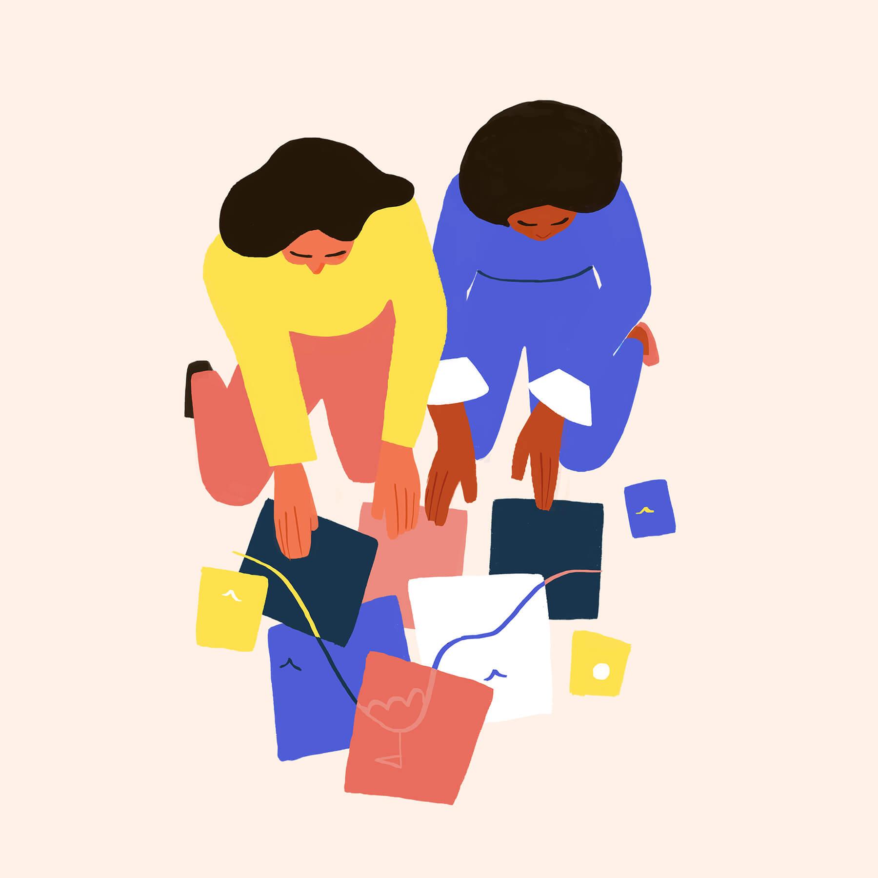 women-building-together-goals-mountain-illustration-violeta-noy