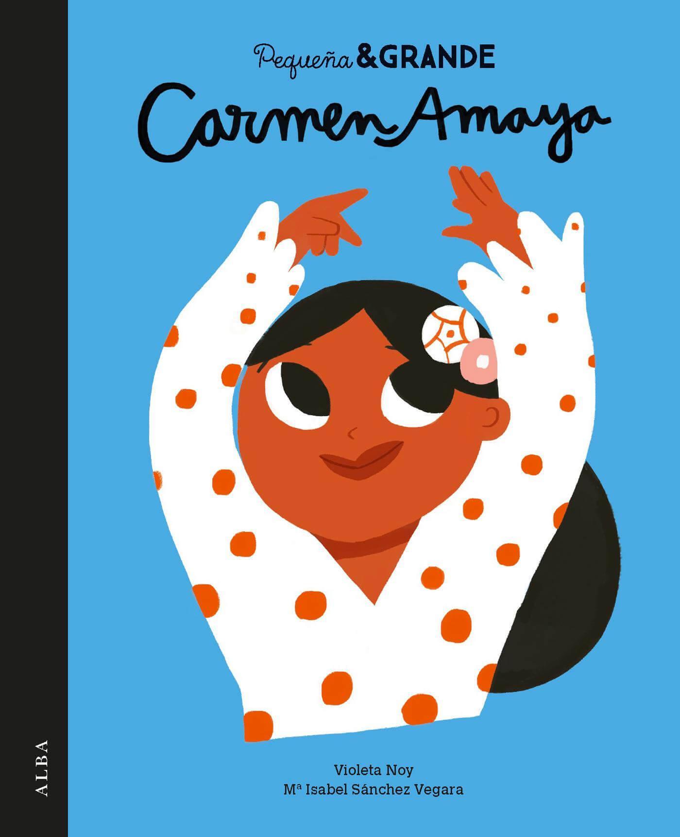 carmen-amaya-pequeña-y-grande-dancer-illustration-violeta-noy-m