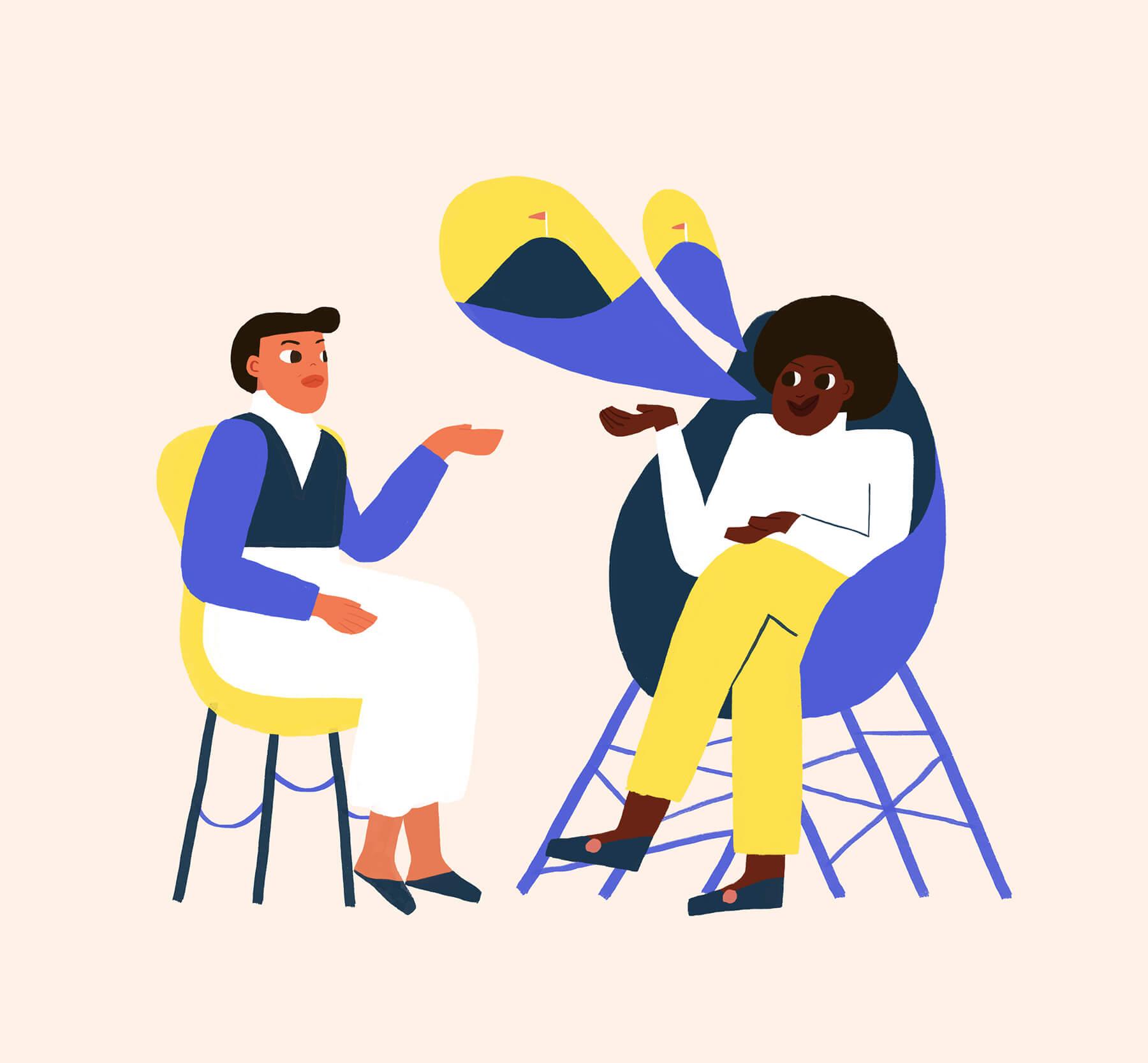 mentorship-women-goals-talking-mountain-illustration-violeta-noy-2