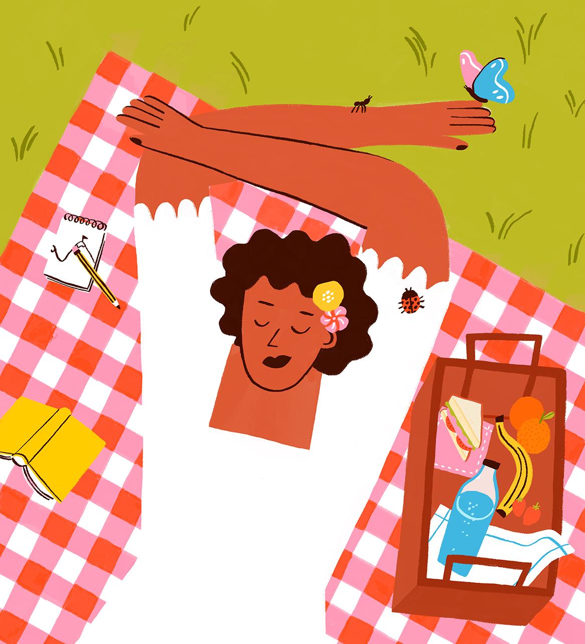 picnic-woman-gentle-dress-pride-book-illustration-violeta-noy-thumbnail
