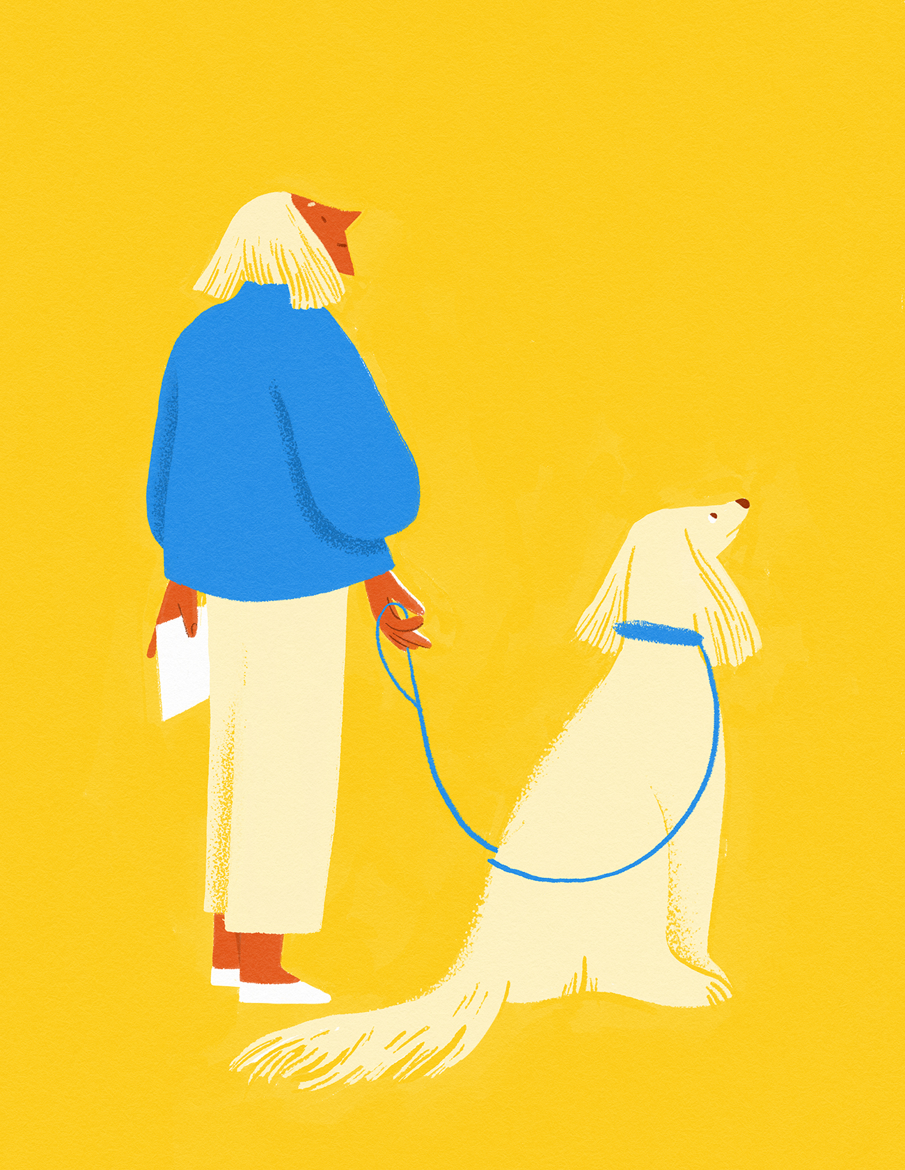 woman-dog-pet-illustration-together-friendship-similar-violeta-noy