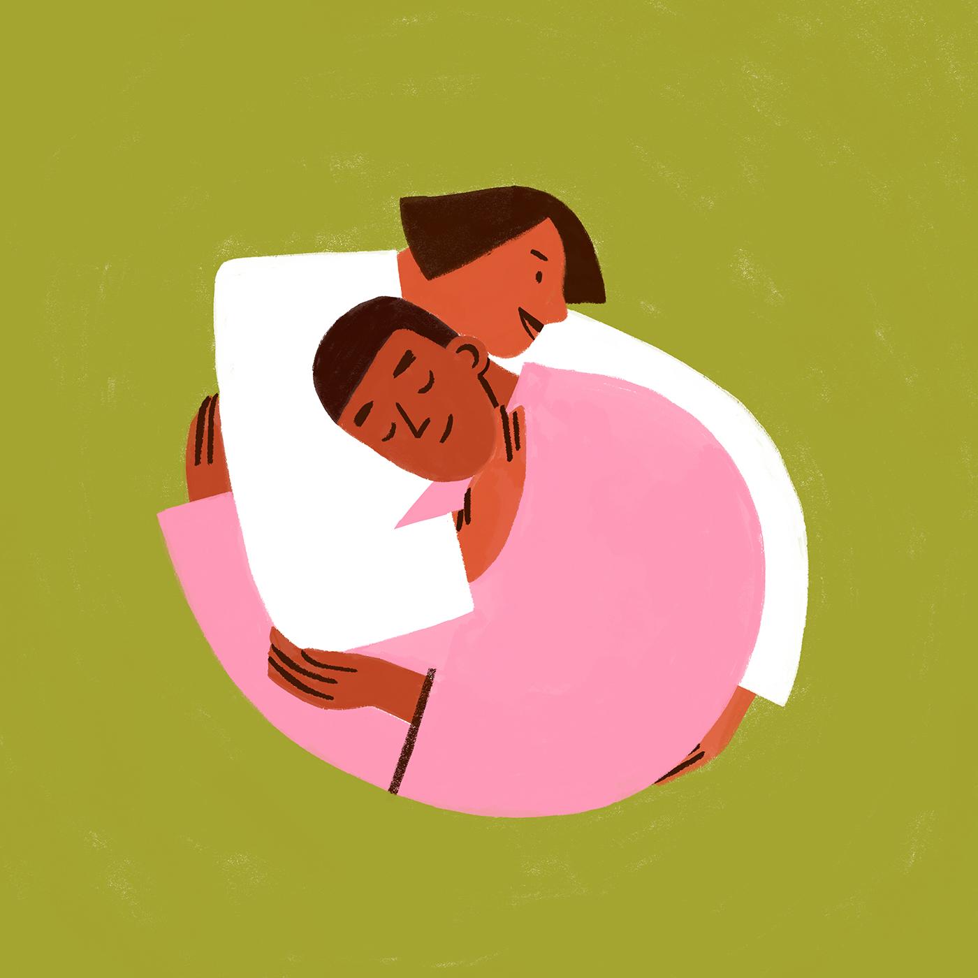 hug-affection-friendship-holding-together-illustration-violeta-noy