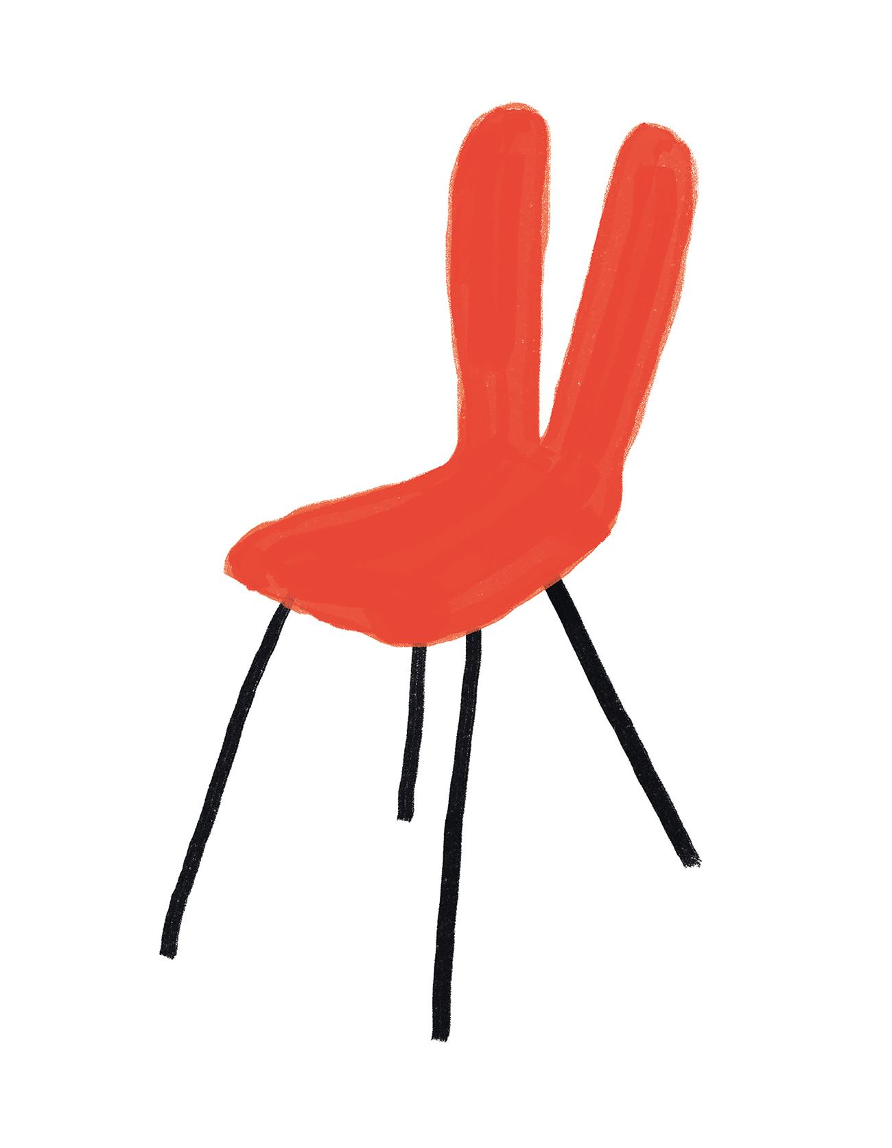 interior-design-women-feminist-chair-obect-Kazuyo-Sejima-chair-illustration-violeta-noy